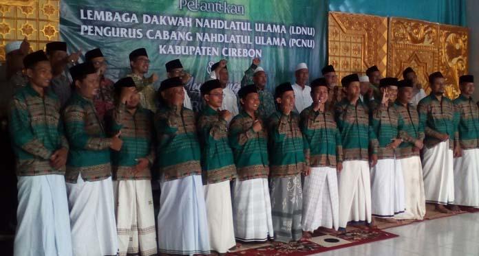 "Pengurus LDNU Kabupaten Cirebon Dilantik, Program Dakwah ""Zaman Now"" Jadi Prioritas"