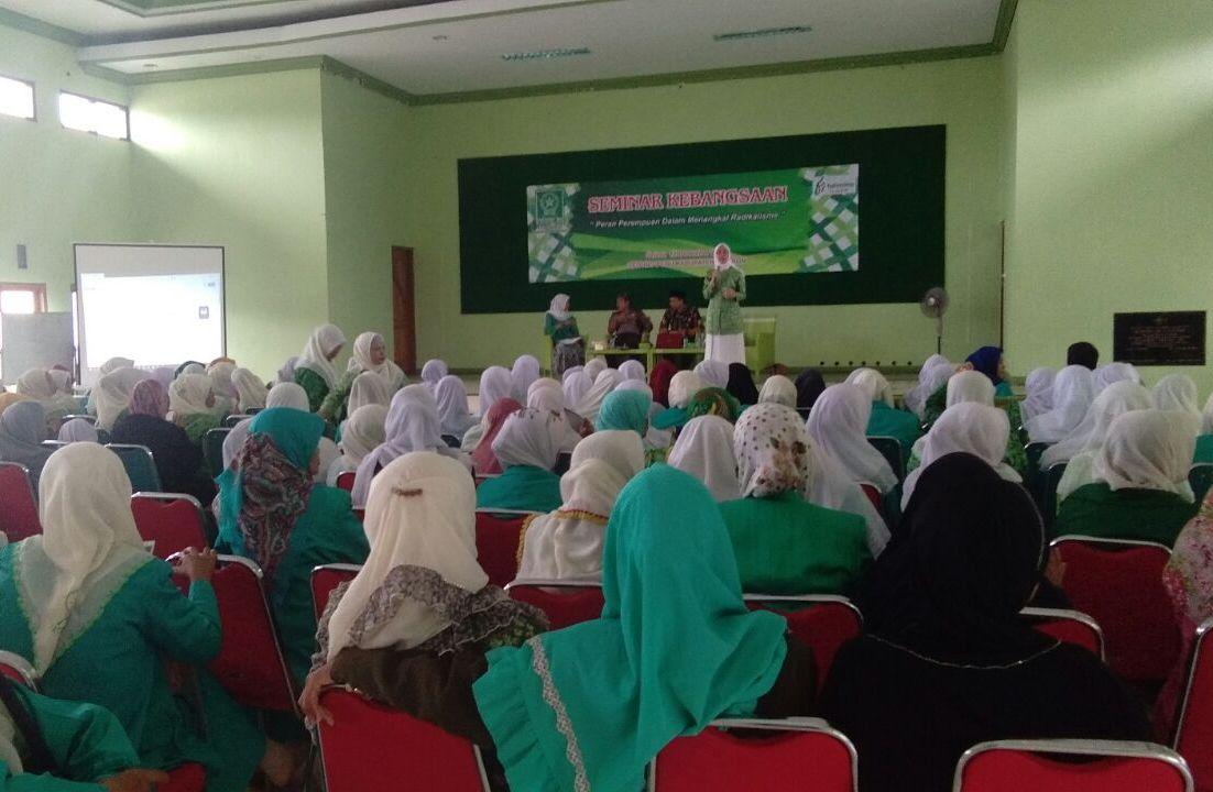 Perempuan Jadi Sasaran Radikalisme – Terorisme, Fatayat NU Kabupaten Cirebon Gelar Seminar Kebangsaaan