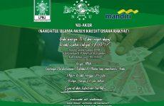 PCNU Kabupaten Cirebon-Bank Mandiri Kerjasama Program NU-AKUR
