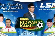 Kick Off Liga Santri Nusantara 2018 Regional Jabar 1 Perebutkan Piala Ridwan Kamil