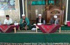 Gelar Yaumul Ijtima', MWCNU Gebang Buka Rangkaian HSN 2018