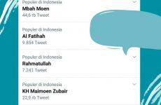 Kabar Mbah Moen Wafat di Makkah Trending Topic di Twitter