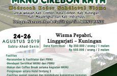 MKNU Cirebon Raya Akan Segera Digelar