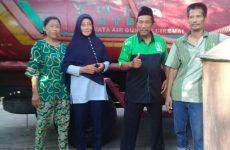 Bantu Warga Kekeringan, LPBI NU Pasok Air Bersih Ke Desa Sedong Lor