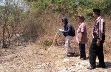 MWC NU Siap Bangun Kantor, LWP NU Lakukan Pengukuran Tanah Wakaf