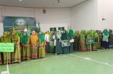 Pengurus Fatayat dan Muslimat Kecamatan Astanajapura Dikukuhkan