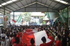 Santri Pondok Pesantren Babakan Ciwaringin Gelar Peringatan HSN 2019