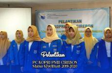 Usai Dilantik, Korps PMII Putri Cirebon Akan Optimalkan Peran Perempuan dalam Pembangunan