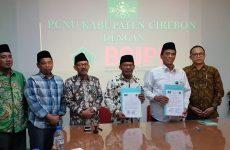 PCNU Cirebon Teken MoU dengan Badan Halal Kemenag RI