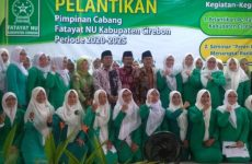 Dilantik, Fatayat NU Kabupaten Cirebon Angkat Tema Peran Perempuan dalam Menangkal Radikalisme