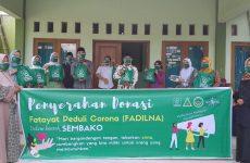 Peduli Corona, Fatayat NU Cirebon Bagikan 420 Paket Sembako