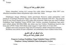 LPTNU Cirebon Buka Pendaftaran Kuliah di Luar Negeri