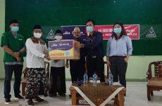 GP Ansor Cirebon dan Aice Group Rayakan Hari Santri dengan Distribusikan Masker Medis